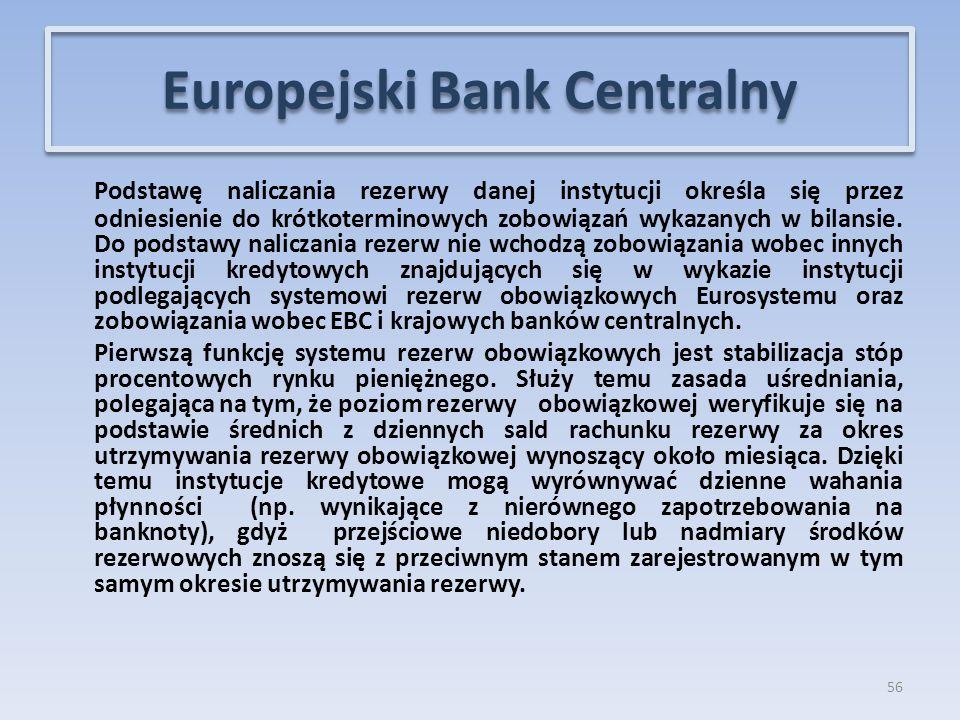 Podstawę naliczania rezerwy danej instytucji określa się przez odniesienie do krótkoterminowych zobowiązań wykazanych w bilansie.