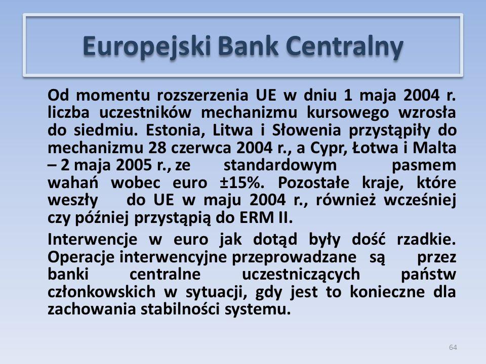 Od momentu rozszerzenia UE w dniu 1 maja 2004 r.