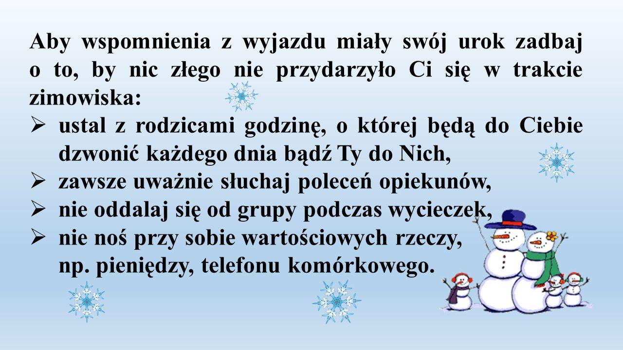 """- skorzystaj z bezpłatnej akcji """"Zima w mieście organizowanej w SP 84 Skierowana jest ona do uczniów klas I-VIuczniów klas I-VI warszawskich szkół podstawowych warszawskich szkół podstawowych."""