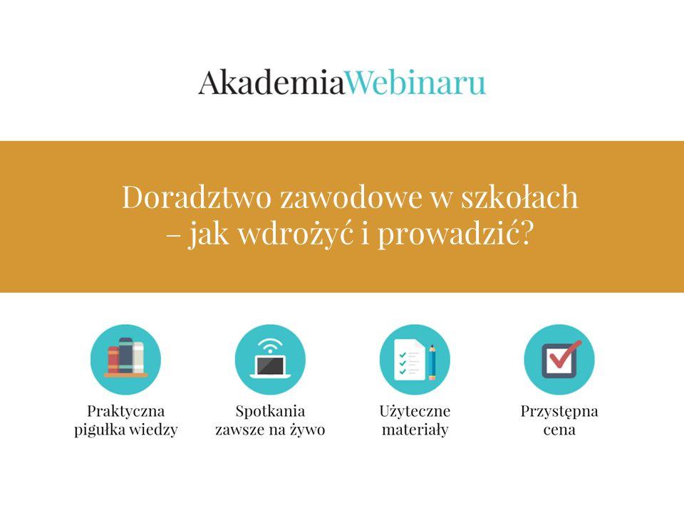 Program 1.Jakie jest znaczenie i formy realizacji doradztwa edukacyjno – zawodowego w szkołach.