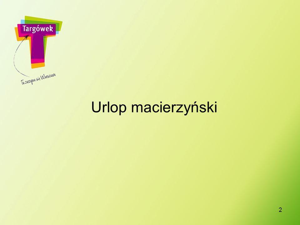 2 Urlop macierzyński