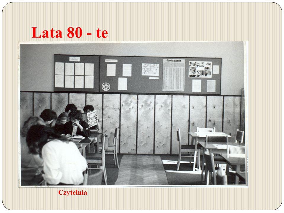 Lata 80 - te Czytelnia