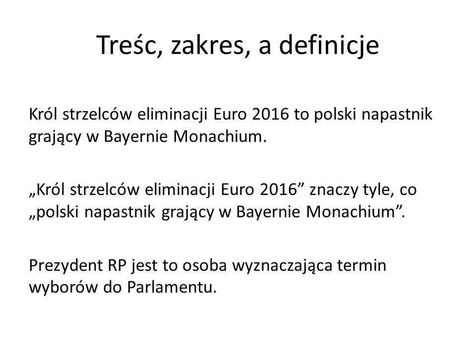 Treśc, zakres, a definicje Król strzelców eliminacji Euro 2016 to polski napastnik grający w Bayernie Monachium.
