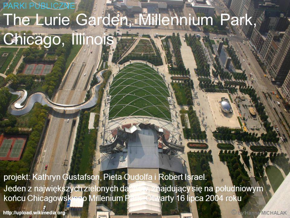 http://upload.wikimedia.org The Lurie Garden, Millennium Park, Chicago, Illinois projekt: Kathryn Gustafson, Pieta Oudolfa i Robert Israel.