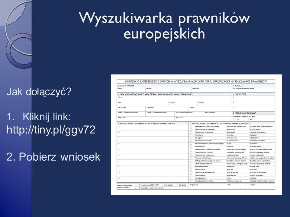 Jak dołączyć. 1.Kliknij link: http://tiny.pl/ggv72 2.