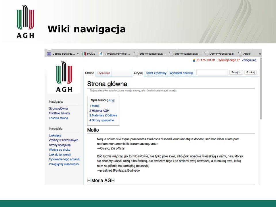 Wiki nawigacja