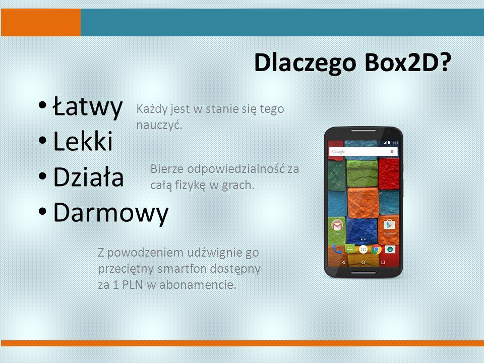 Dlaczego Box2D.