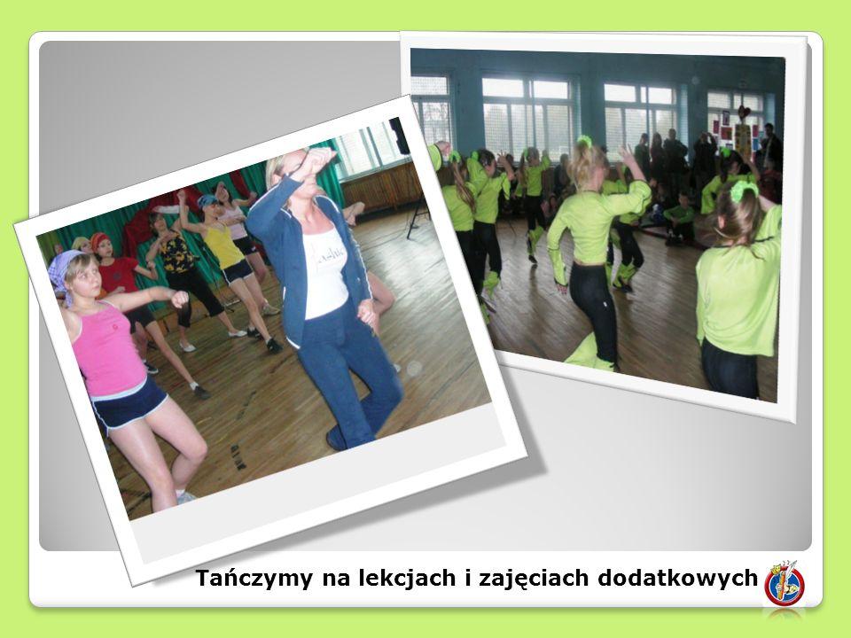 Tańczymy na lekcjach i zajęciach dodatkowych