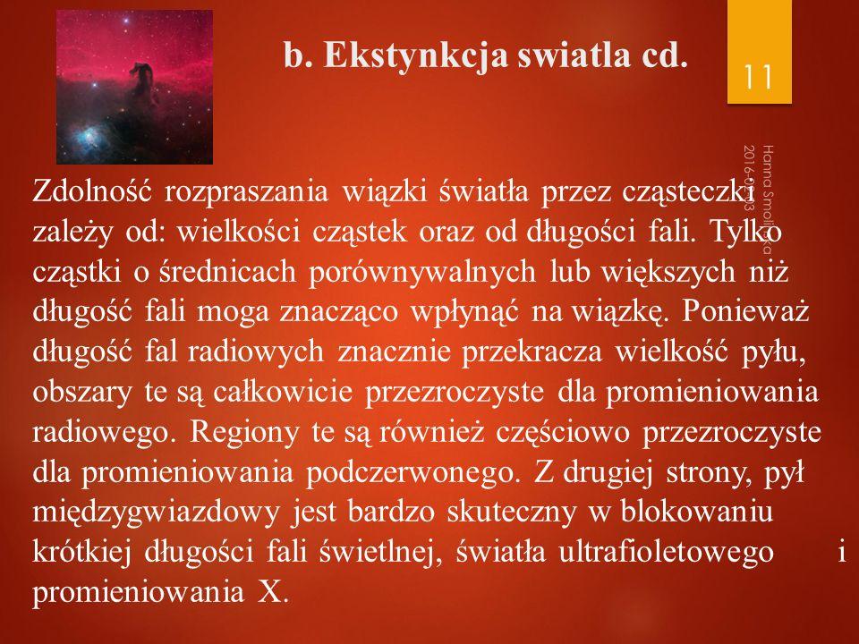 b. b. Ekstynkcja swiatla cd.