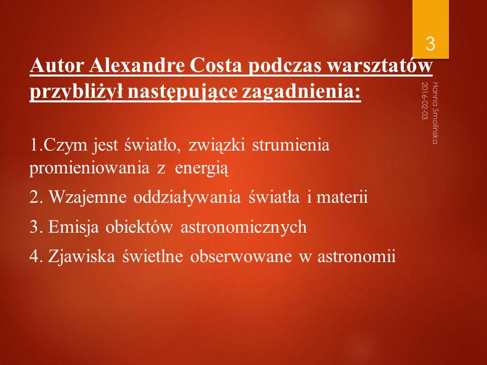 c.Emisja w astronomii Wprowadzenie: Na fot.