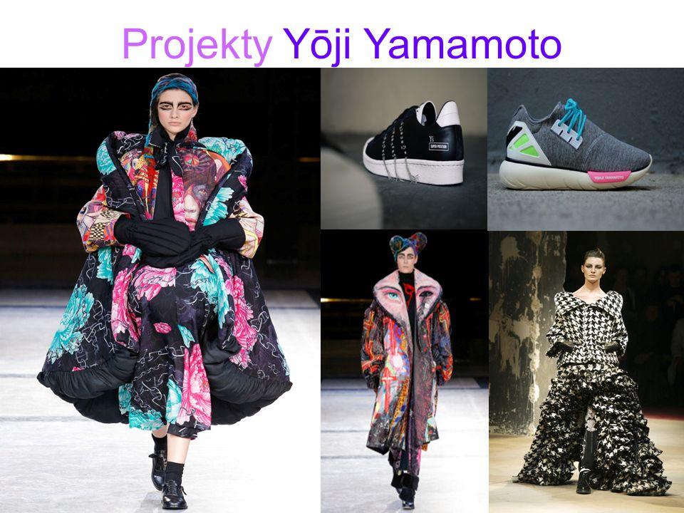 Projekty Yōji Yamamoto.