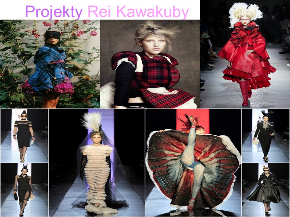 Projekty Rei Kawakuby.