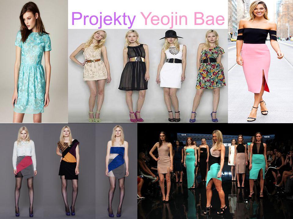 Projekty Yeojin Bae.