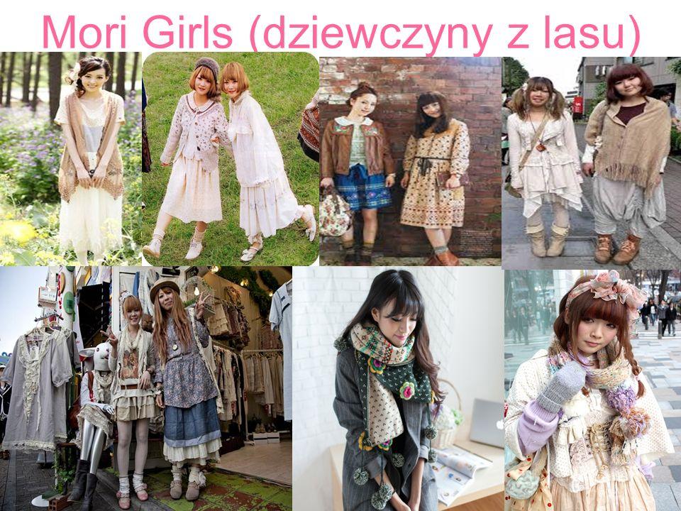 Mori Girls (dziewczyny z lasu).
