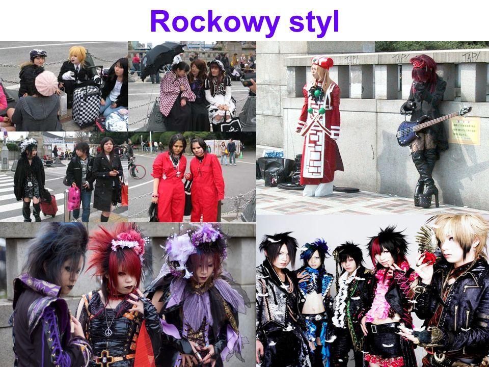 Rockowy styl.