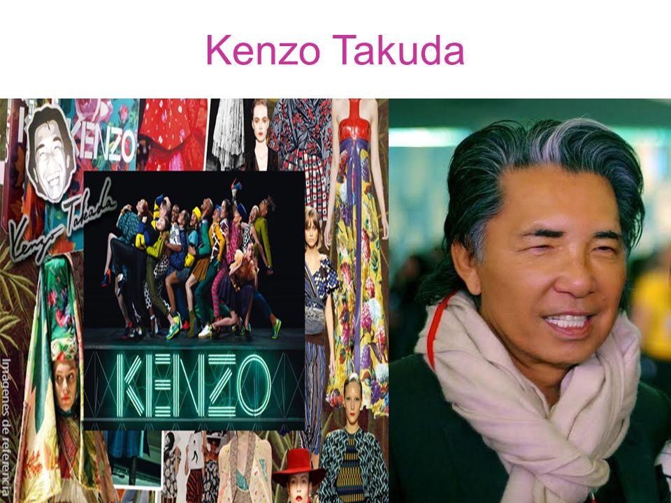 Kenzo Takuda.