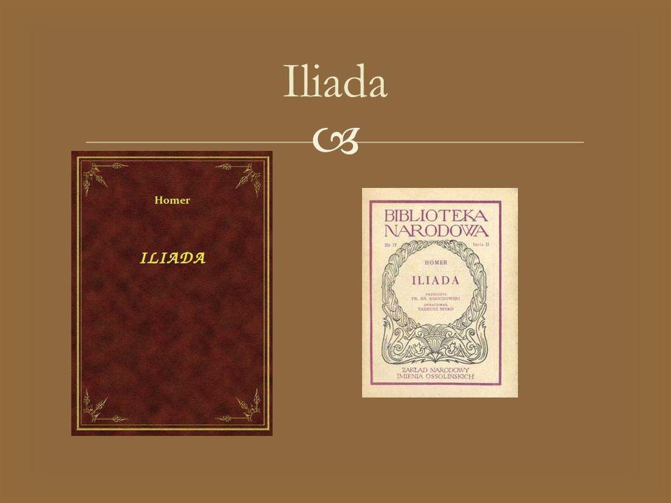   Aby zrozumieć wydarzenia opisane wIliadzie – poemacie o dziejach wojny trojańskiej (Ilion to po grecku Troja) – należy cofnąć się w czasie znacznie wcześniej, do wesela księcia tesalskiego Peleusa i pięknej boginki Tetydy.