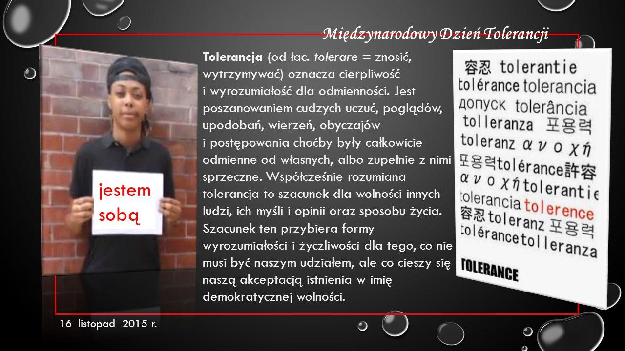 Stanisław Soyka - Tolerancja Dlaczego nie mówimy o tym, co nas boli otwarcie.