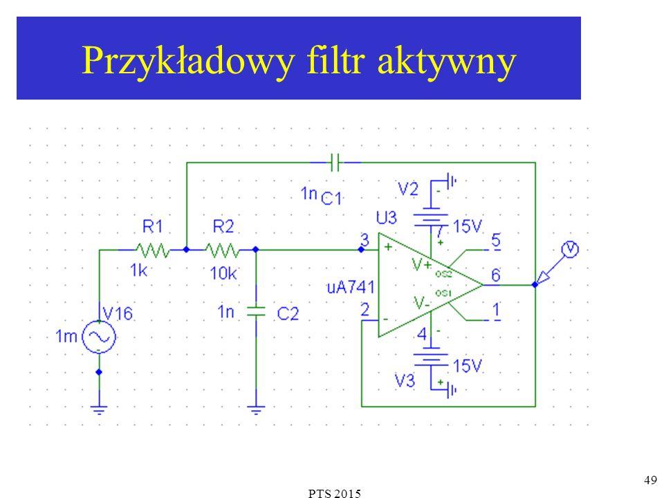 PTS 2015 49 Przykładowy filtr aktywny