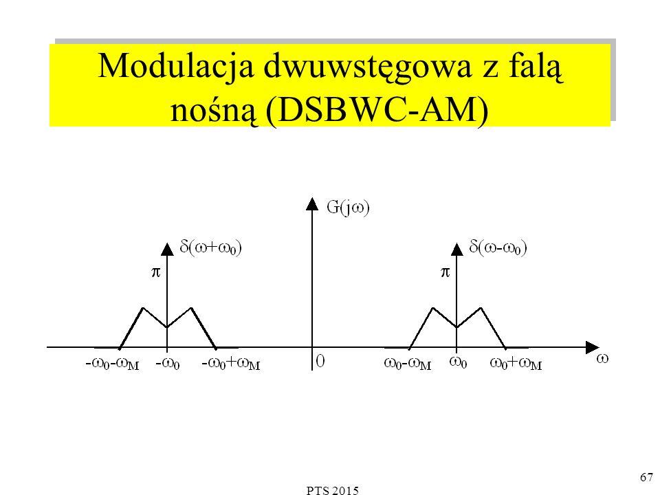 PTS 2015 67 Modulacja dwuwstęgowa z falą nośną (DSBWC-AM)