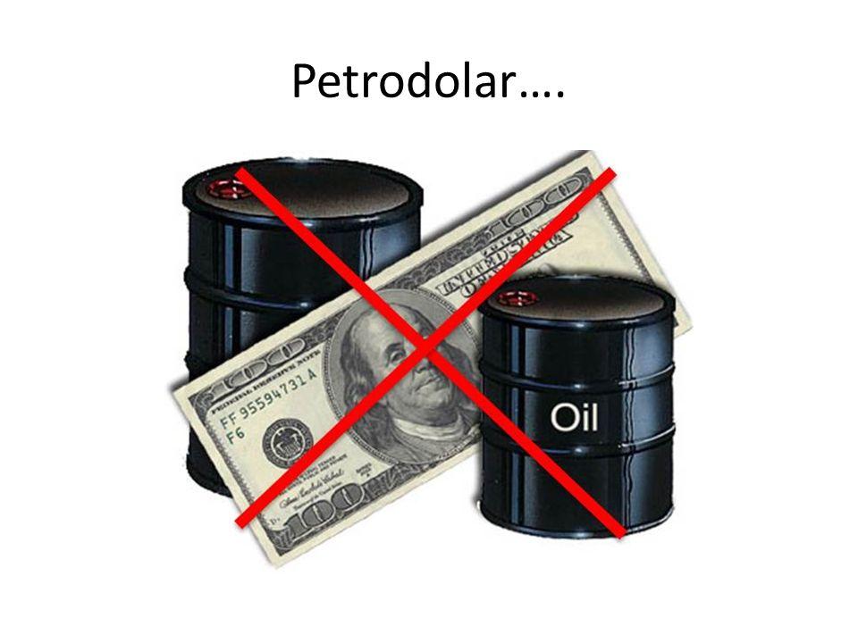 Petrodolar….