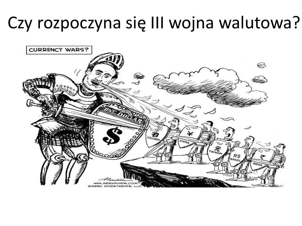 Czy rozpoczyna się III wojna walutowa?