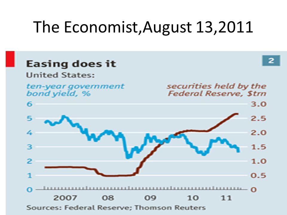 The Economist,August 13,2011
