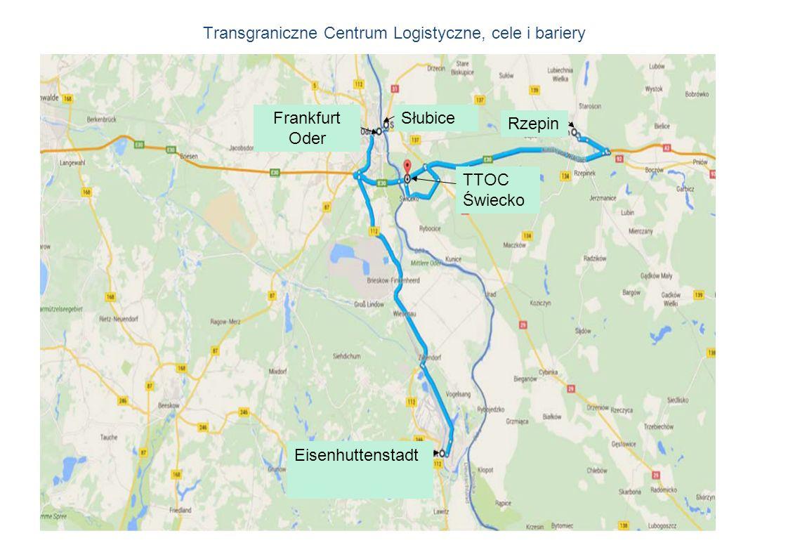Transgraniczne Centrum Logistyczne, cele i bariery Słubice TTOC Świecko Frankfurt Oder Rzepin Eisenhuttenstadt