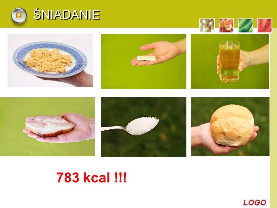 LOGO ŚNIADANIE 783 kcal !!!