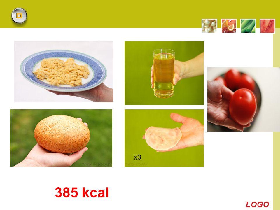 LOGO 385 kcal x3
