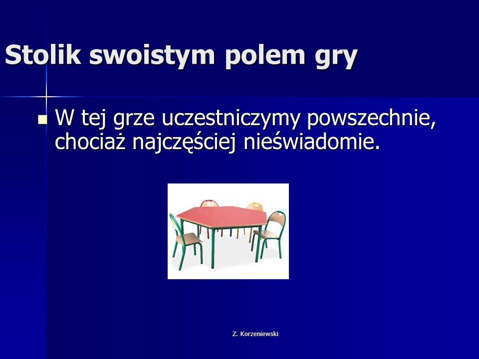 Z.Korzeniewski Gdzie ustawić biurko.