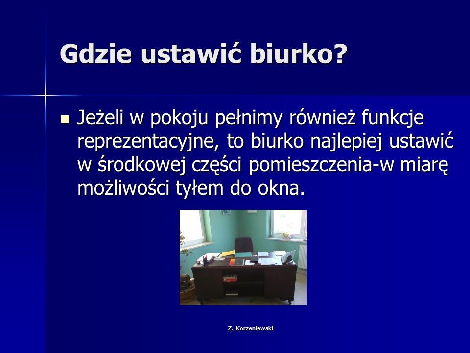 Z.Korzeniewski Oświetlenie Istotny element wyposażenia.