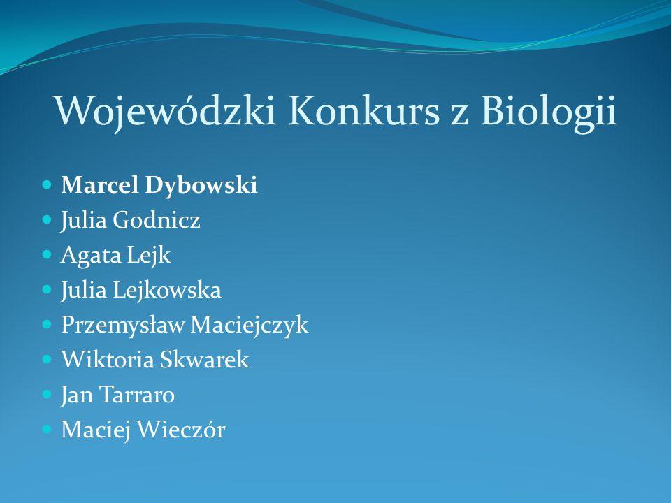 X Otwarty Konkurs,, Legendy Błękitnej Krainy Jakub Nastaj Julia Kochanowska
