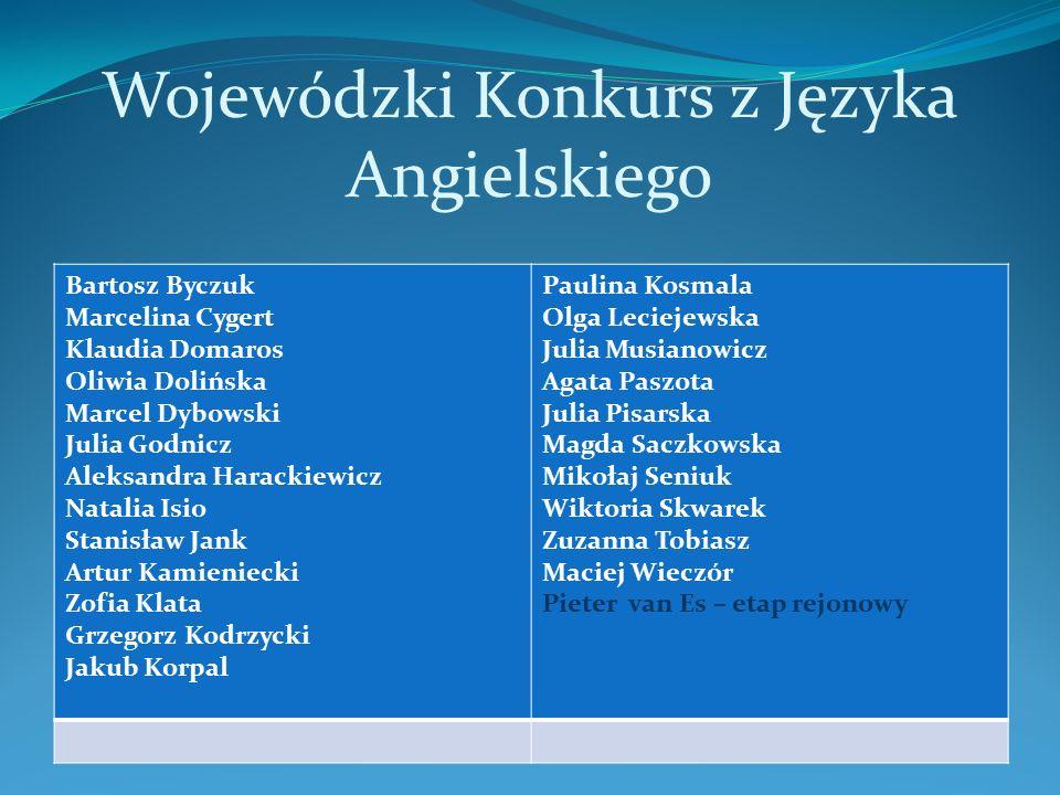 Strzelectwo Alicja Rzepka zdobyła III miejsce w Międzywojewódzkich Mistrzostwach Młodzików w Ustce ( kategoria - pistolet pneumatyczny ) V miejsce w zawodach strzeleckich Polonia Cup w Wilnie ( kategoria pistolet pneumatyczny )