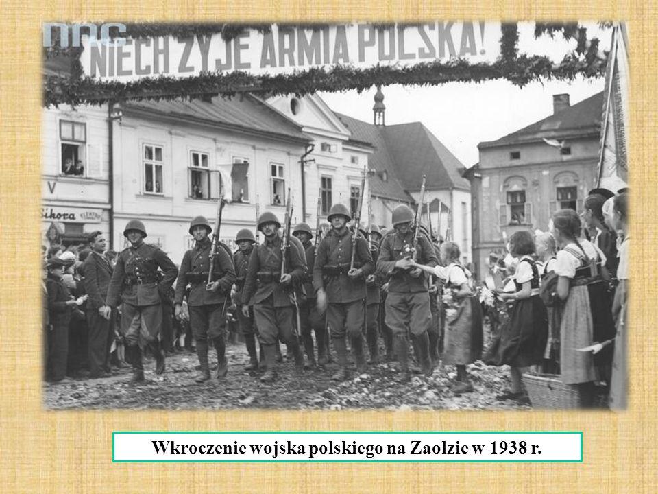 Wkroczenie wojska polskiego na Zaolzie w 1938 r.