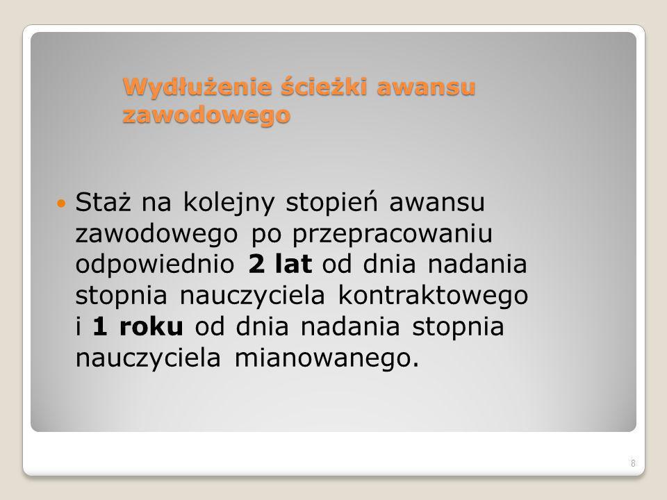 Procedura oceniania Rozporządzenie z 1.12.04 § 13.