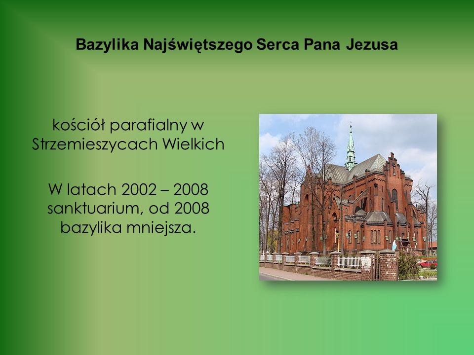 Kościół św. Barbary – wzniesiony przez ewangelików, od 1945 przejęty przez katolików Zbudowany został przez ewangelików w 1882 r. W 1945 r. wszedł w p
