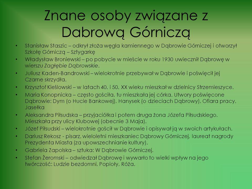 Urząd Miejski w Dąbrowie Górniczej Od 27 listopada 2006 r. prezydentem Dąbrowy Górniczej jest Zbigniew Podraza