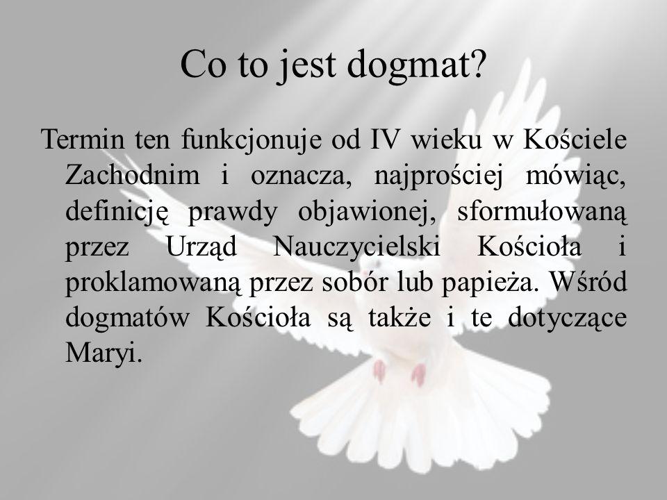 Co to jest dogmat.