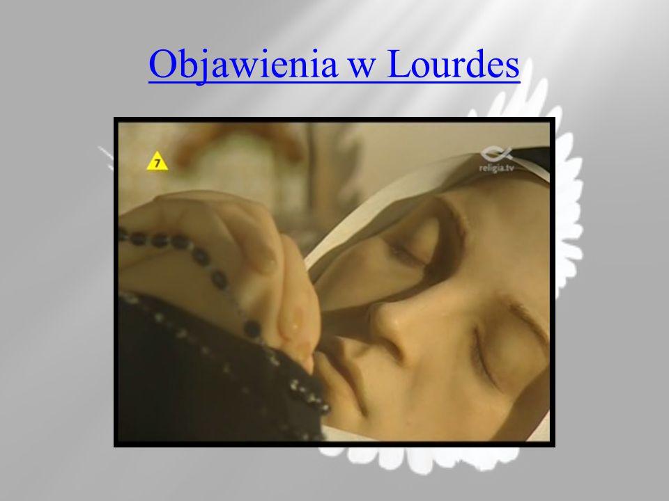 Objawienia w Lourdes