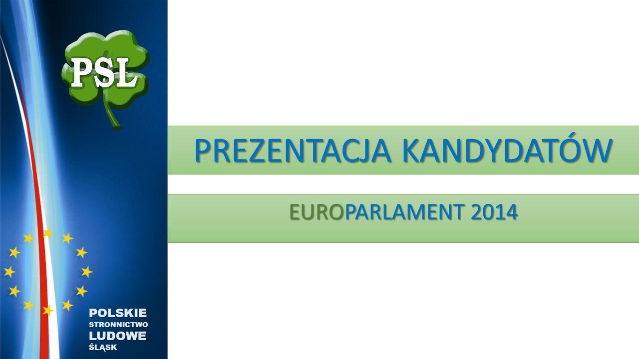 PREZENTACJA KANDYDATÓW POLSKIE STRONNICTWO LUDOWE ŚLĄSK EUROPARLAMENT 2014