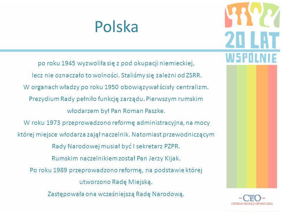 Polska po roku 1945 wyzwoliła się z pod okupacji niemieckiej, lecz nie oznaczało to wolności.