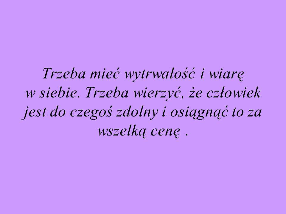Maria nigdy nie zapomniała, że jest Polką.