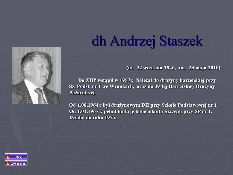 dh Edmund Piątkowski (ur.19 sierpnia 1927 w Henrykowie k/Leszna, zm.