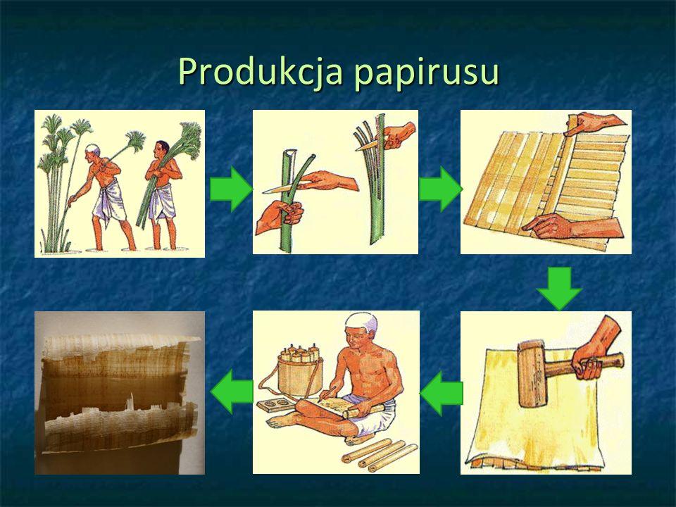 Produkcja papirusu