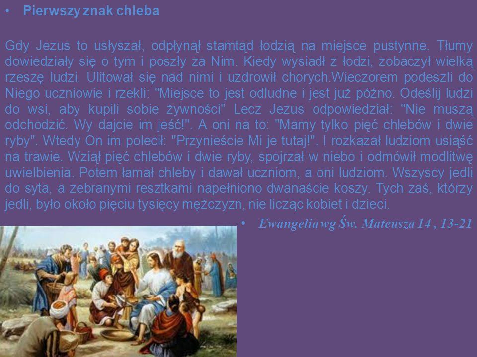 Uroczystość weselna w Kanie Galilejskiej W trzecim dniu odbywało się w Kanie Galilejskiej wesele i była na nim Matka Jezusa.