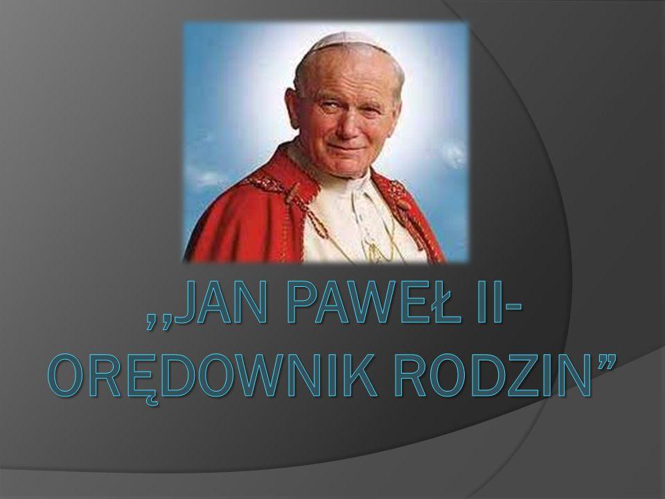 Jan Paweł II (łac.Ioannes Paulus PP. II), właśc. Karol Józef Wojtyła (ur.