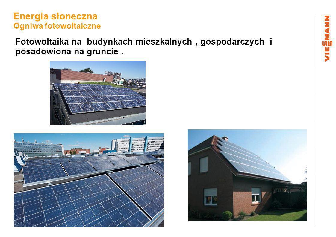 Plan sytuacyjny Energia słoneczna Ogniwa fotowoltaiczne Fotowoltaika na budynkach mieszkalnych, gospodarczych i posadowiona na gruncie.