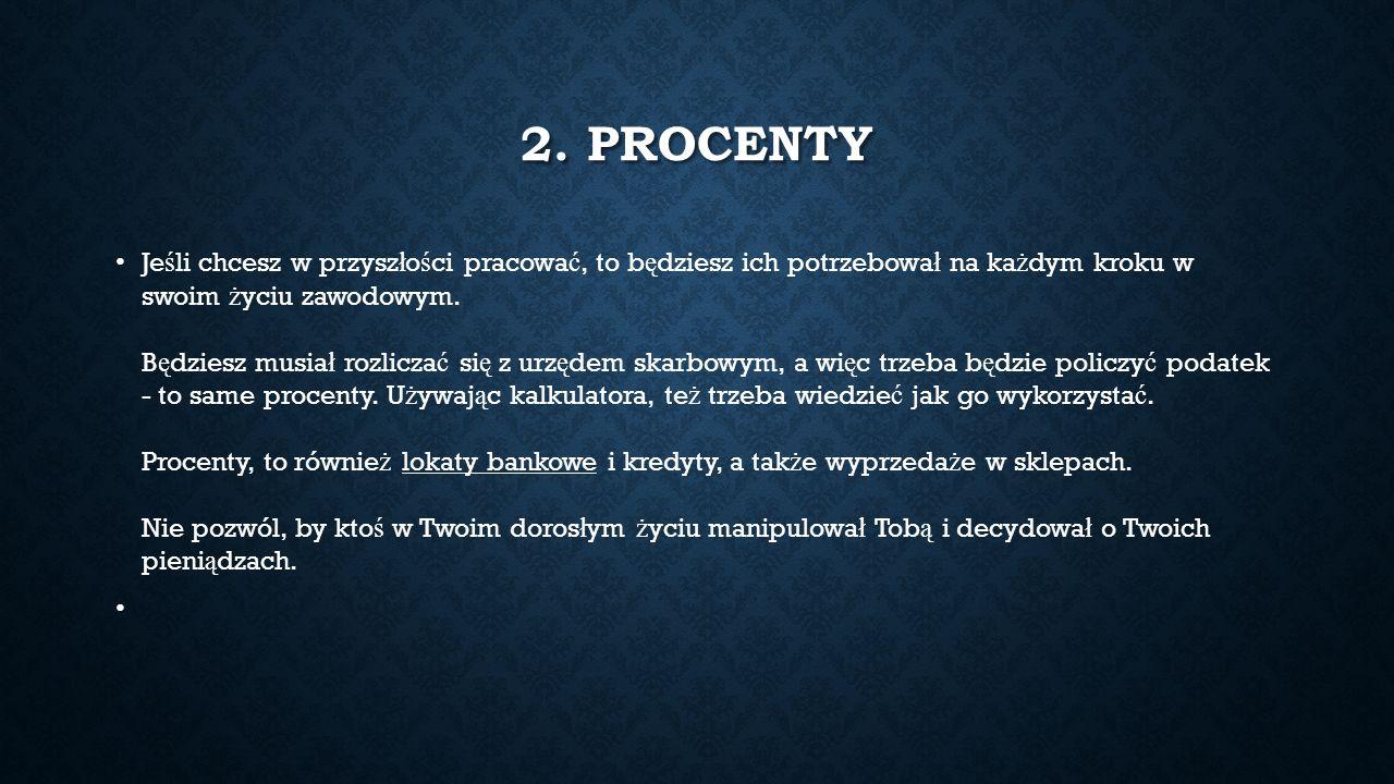 3.PROPORCJE Moje ulubione narz ę dzie. Potrzebuje ich przede wszystkim gospodyni domowa.