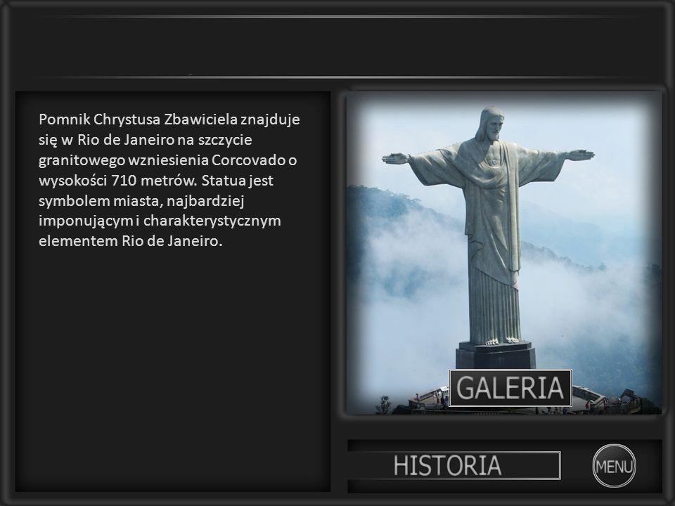 Pomnik Chrystusa Zbawiciela znajduje się w Rio de Janeiro na szczycie granitowego wzniesienia Corcovado o wysokości 710 metrów. Statua jest symbolem m
